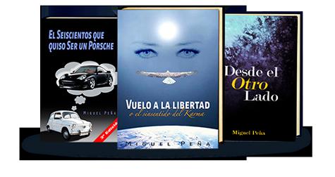 Libros publicados - vueloalalibertad.com - terapia regresiones y vidas pasadas