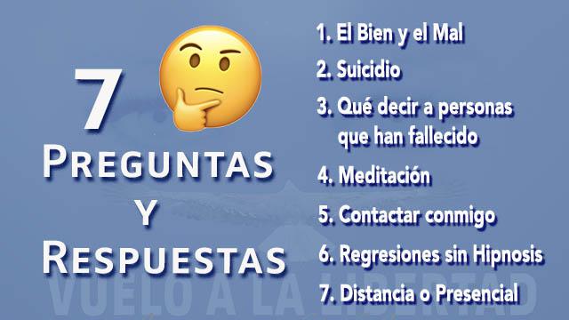 7 Preguntas y Respuestas - www.vueloalalibertad.com